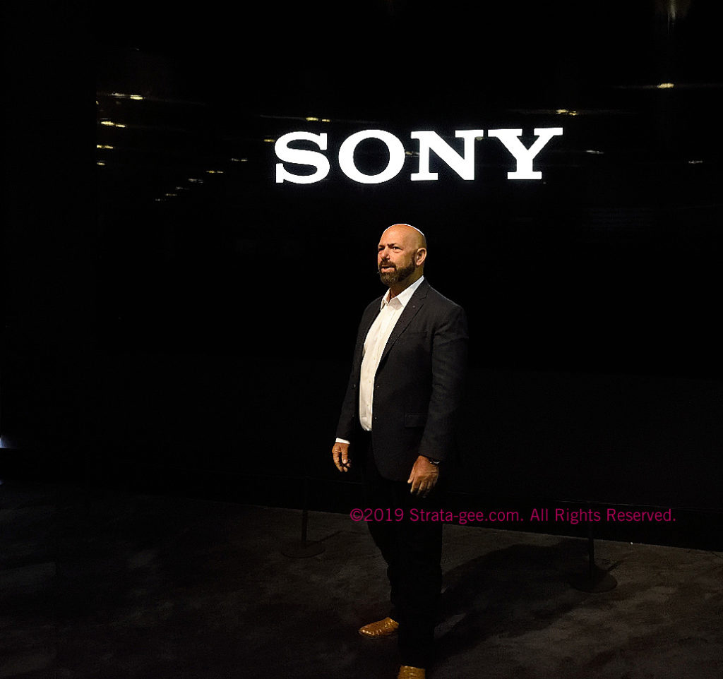 Sony's Frank Sterns at CEDIA Expo 2019