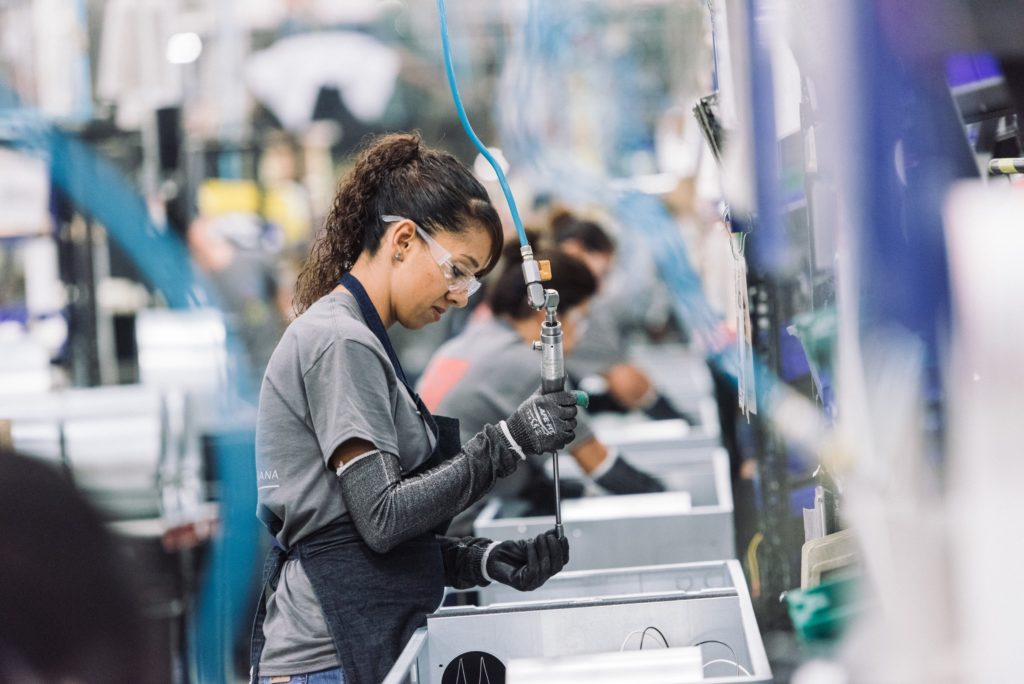 Photo from a Nortek factory