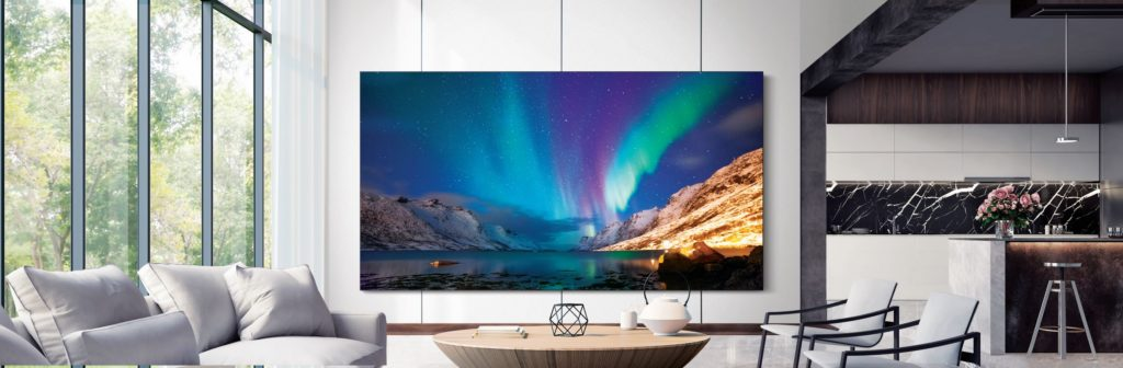 CES 2020 Samsung MicroLED TV