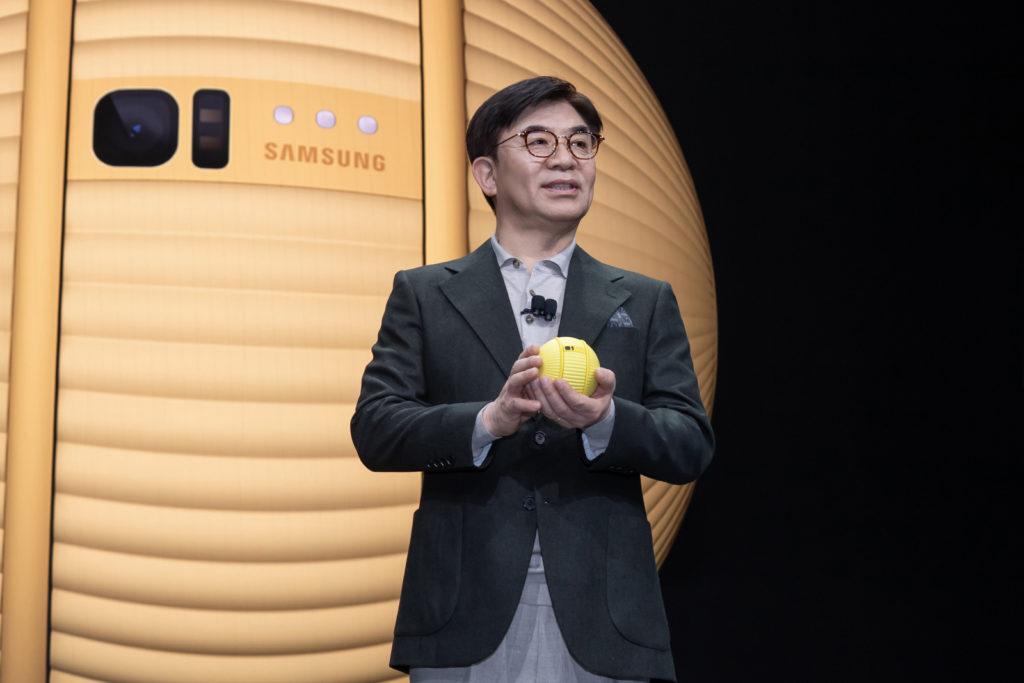 CES 2020 Samsungs Ballie personal robot