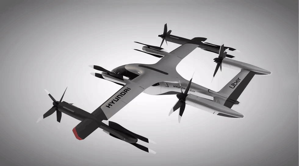 CES 2020 Hyundai/Uber's SA-1 flying taxi