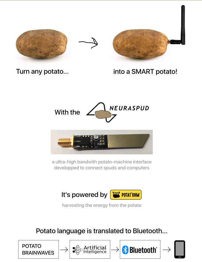 neuraspud smart potato indiegogo campaign image