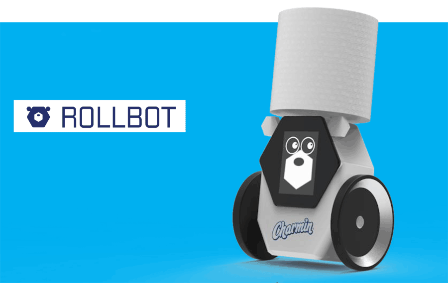 At CES 2020, P&G brand Charmin is showing a RollBot
