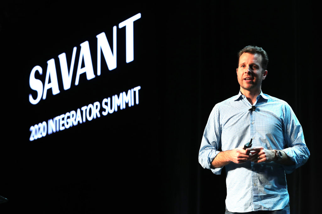 photo from 2020 savant integrator summit
