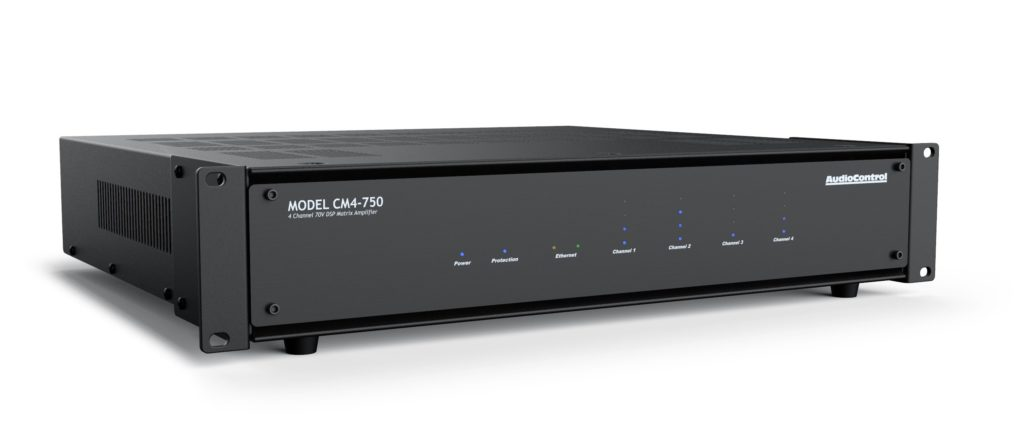 AudioControl CM4-750 70/100v Commercial amplifier
