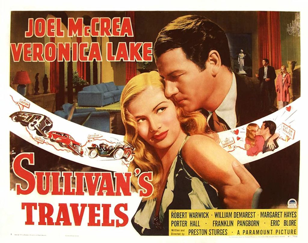 "Movie poster for ""Sullivan's Travels"""