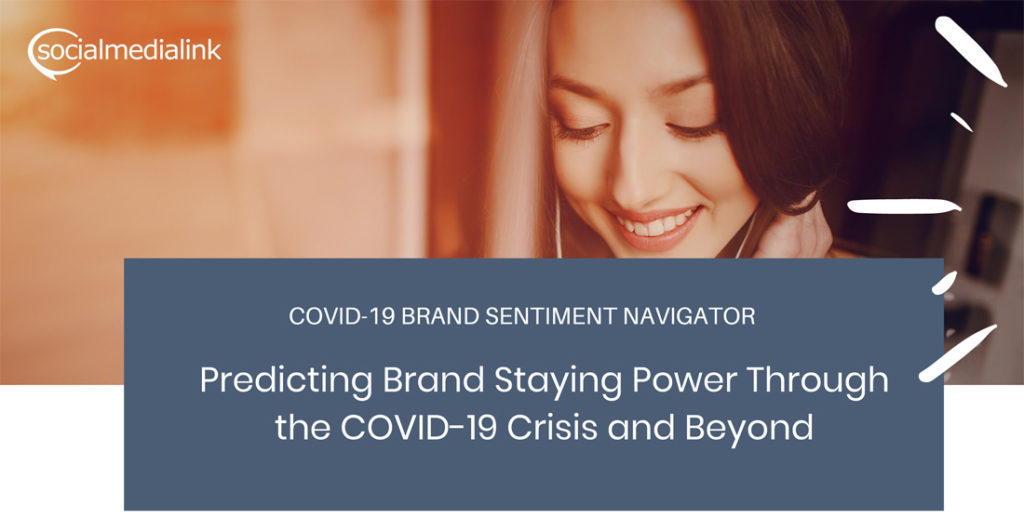 COVID-19 consumer Brand Sentiment survey header