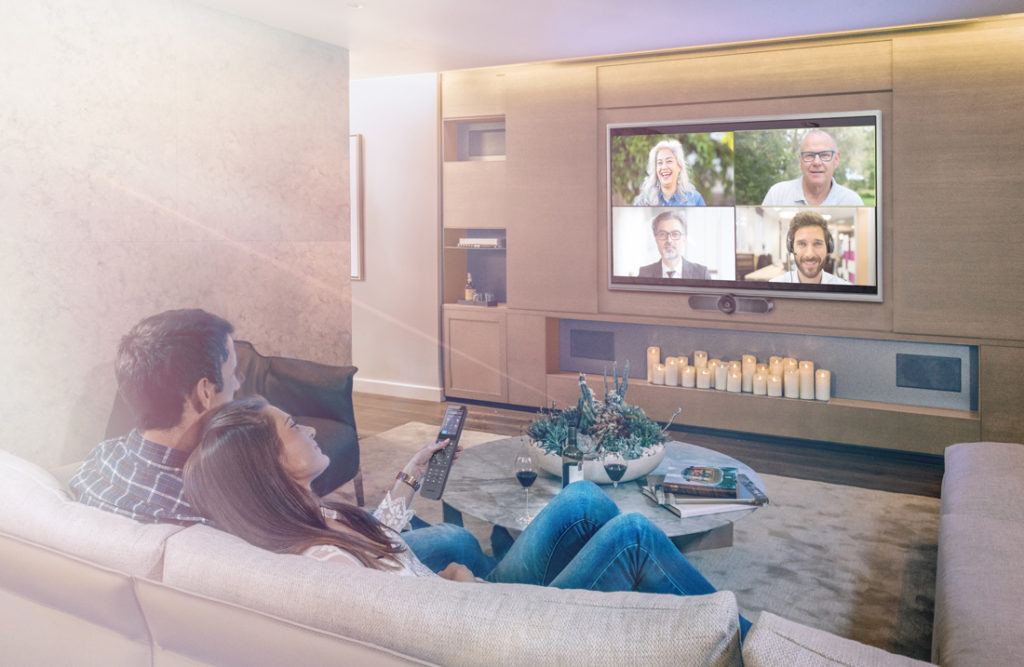 Crestron HomeTime lifestyle image