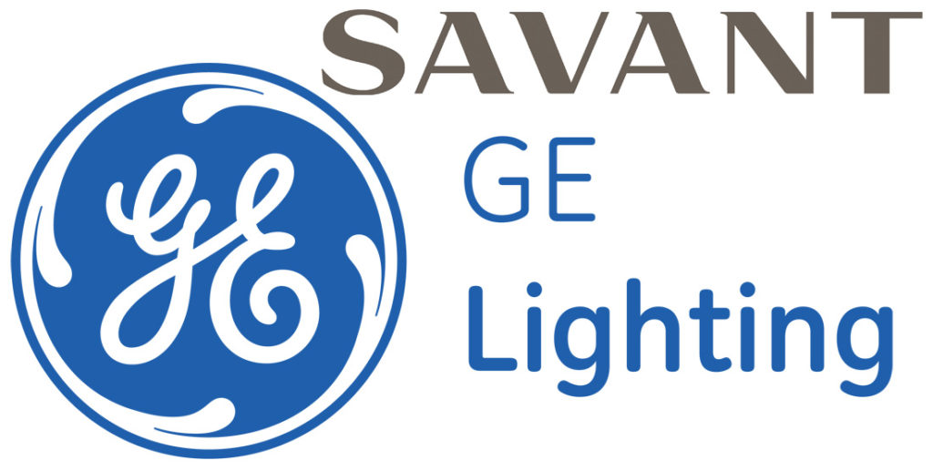 Savant and GE Lighting logos