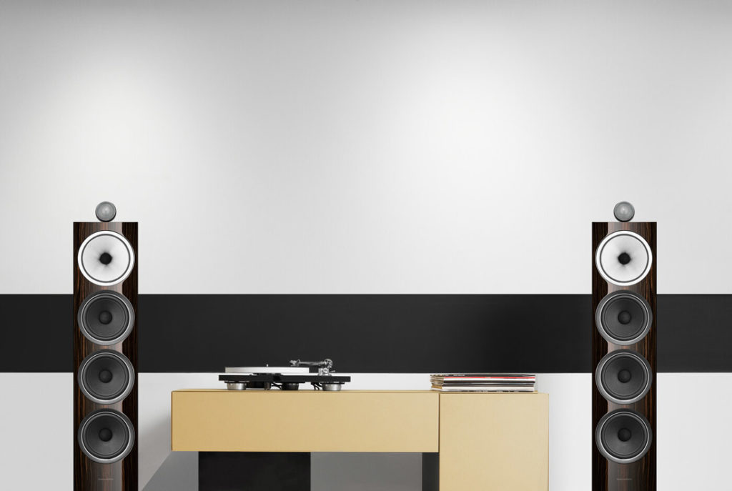 B&W 702 Signature Series speakers