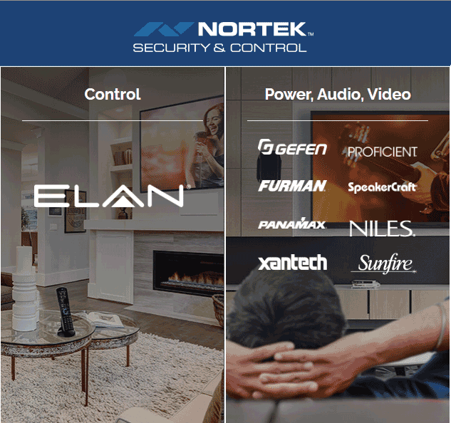 Nortek Security 7 Control brands