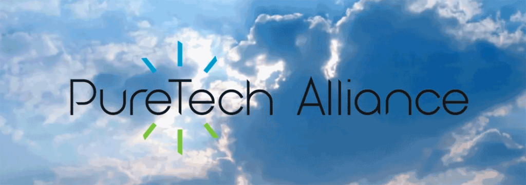 PureTech Alliance logo, a new group promoting residential wellness or healthy home