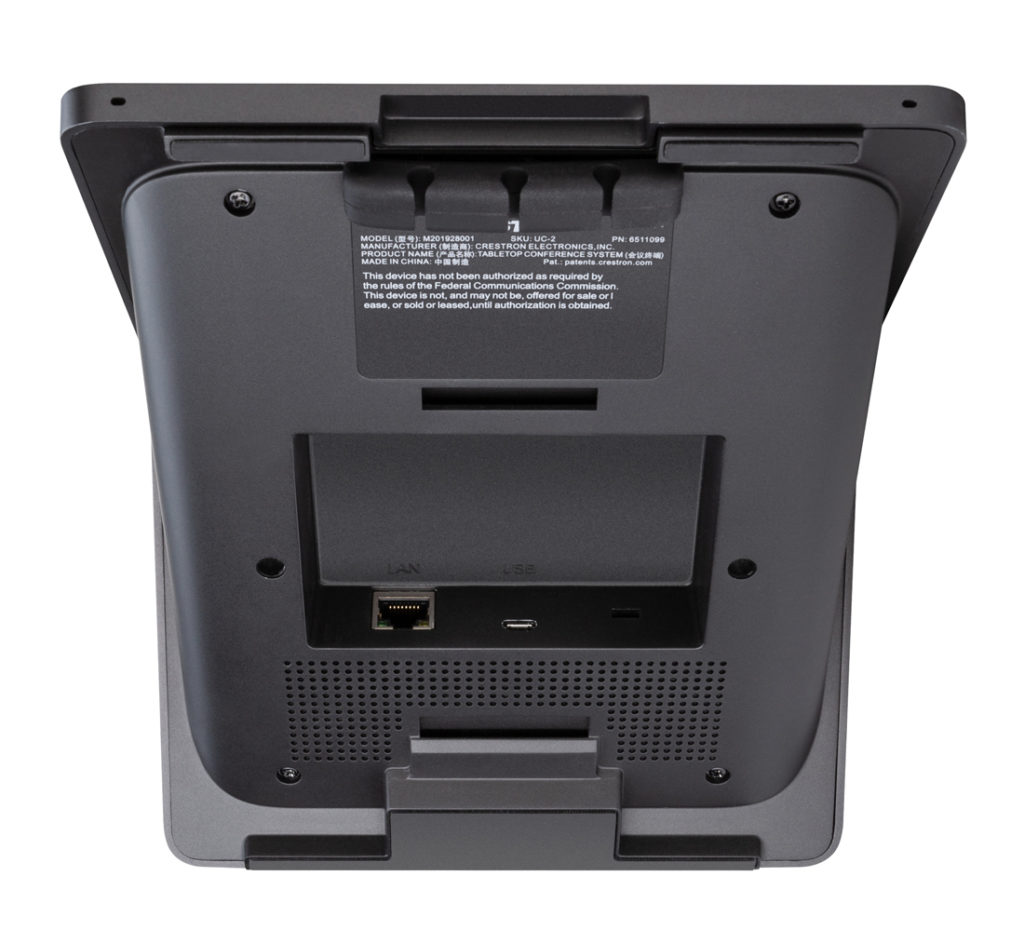 Crestron Flex MM rear panel