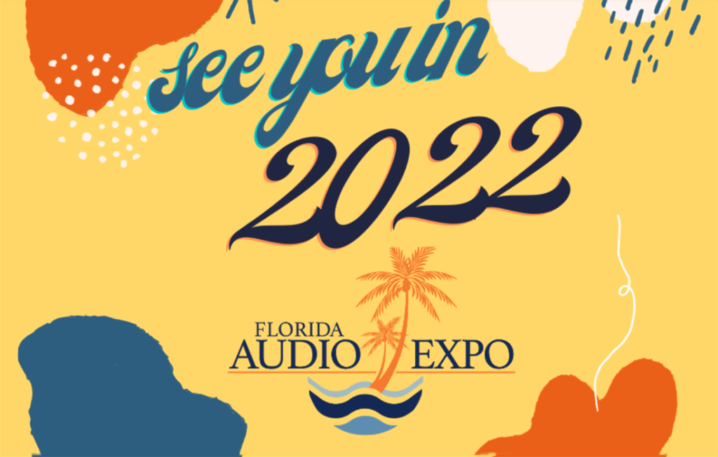 Florida Audio Expo graphic from their website