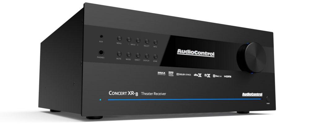 AudioControl Concert XR-8 A/V receiver featuring Dirac Live Bass Control technology