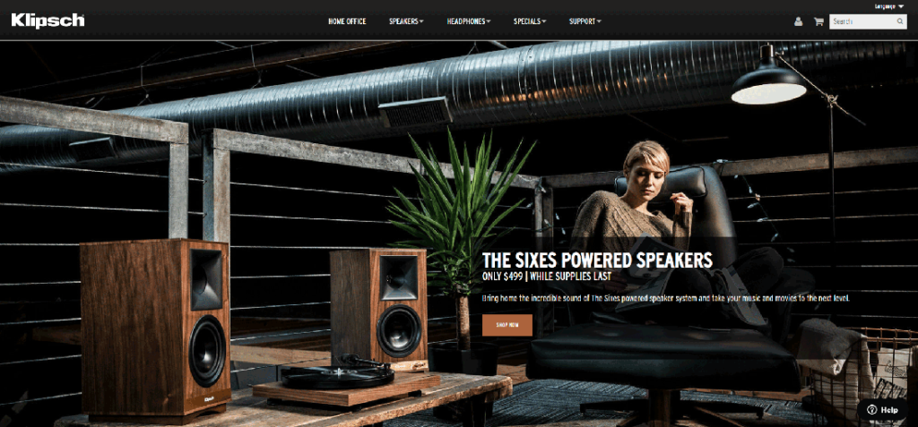 Image from the Klipsch website
