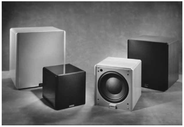 Velodyne Digital Drive+ high performance subwoofers
