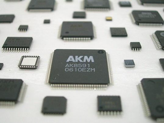 A photo of AKM semiconductors