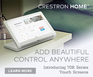 Crestron 70 Series Touch Screens