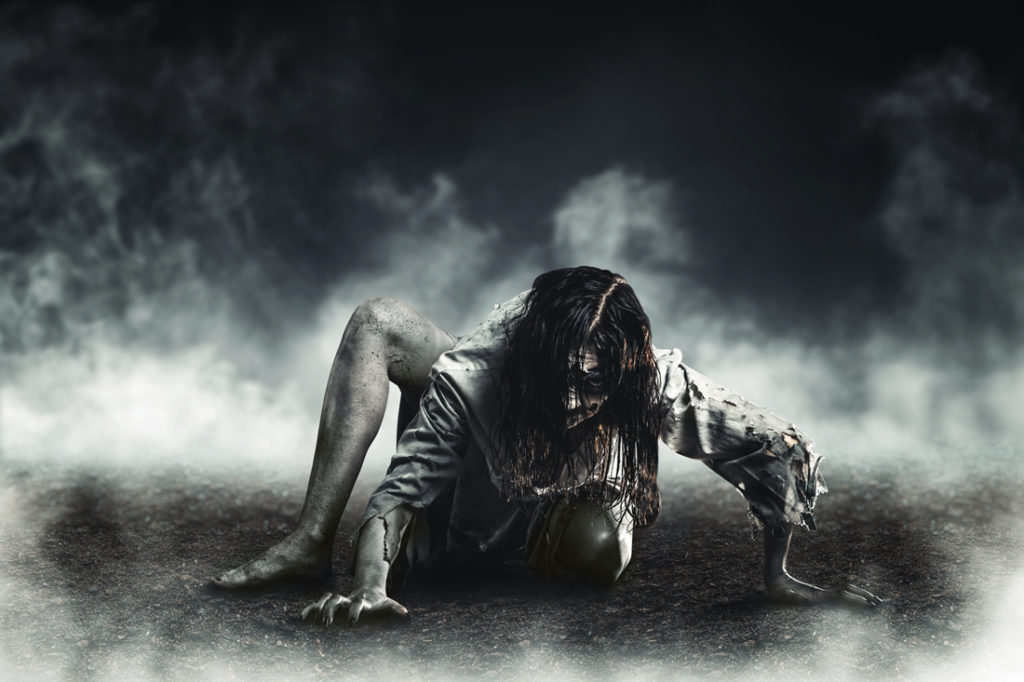 Photo of a zombie
