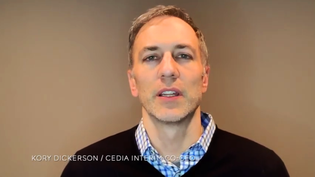 Photo of Kory Dickerson, interim co-CEO of CEDIA
