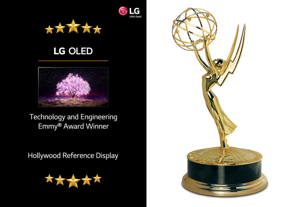 LG OLED TVs win an Emmy