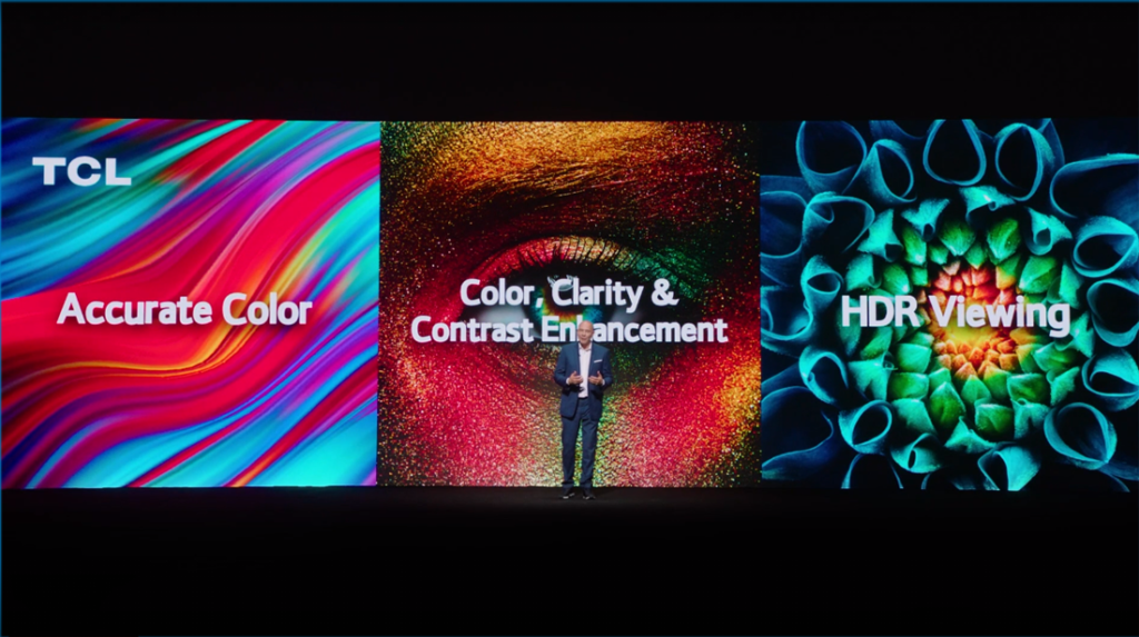 At CES 2021 virtual, TCL says their TVs deliver more