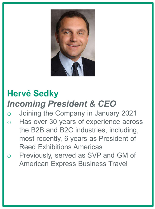New Emerald CEO Herve Sedky