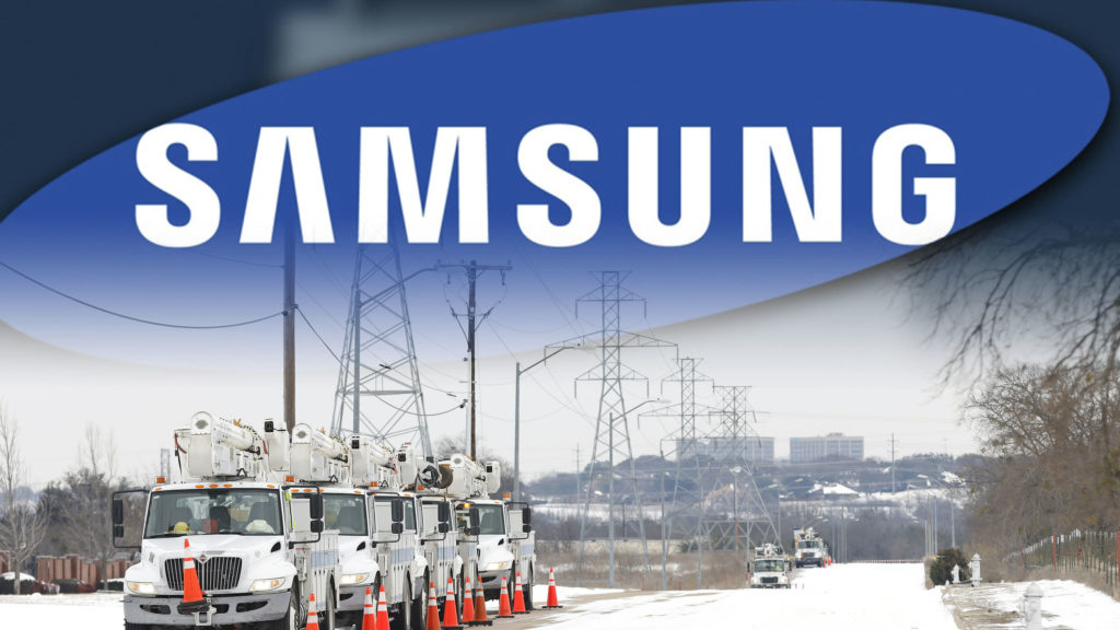 Samsung plant in Austin Texas snowstorm impacting the supply chain