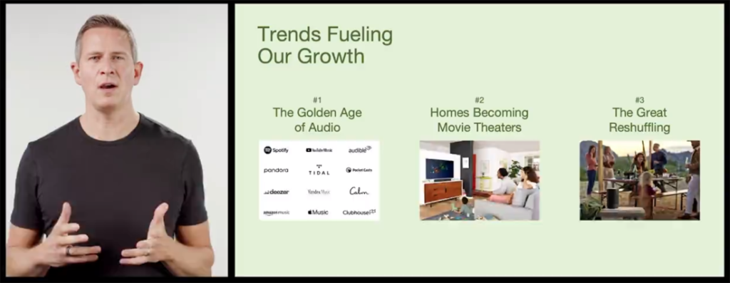 Image of Partick Spence discussing trends driving company growth