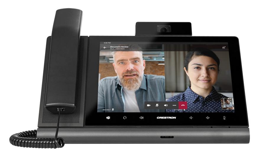 New Crestron Flex phone enables better collaboration