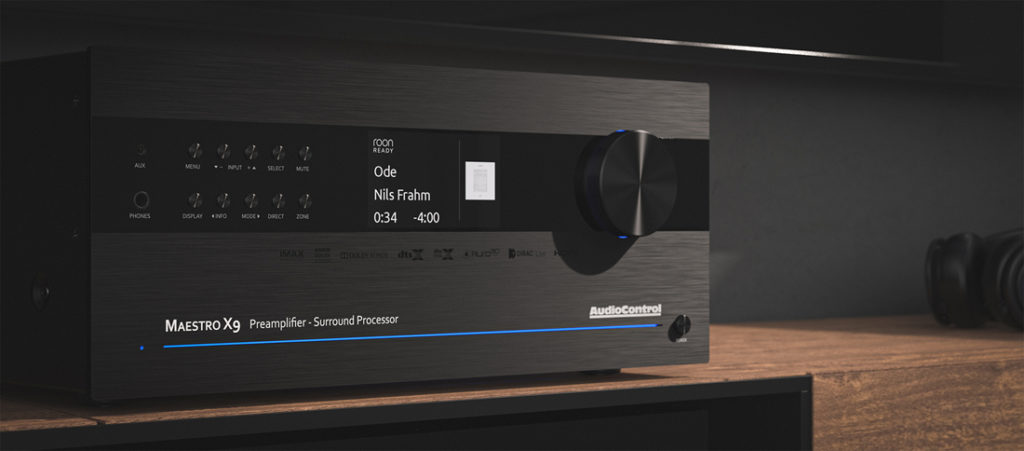 AudioControl Maestro X-9 now certified Roon Ready