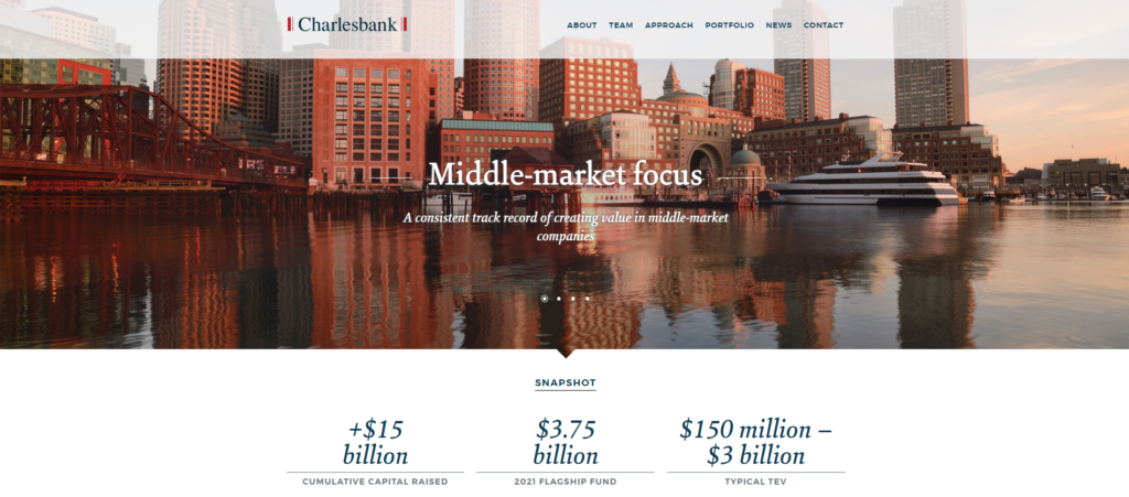 Charlesbank Capital Partners website. They own Sound United