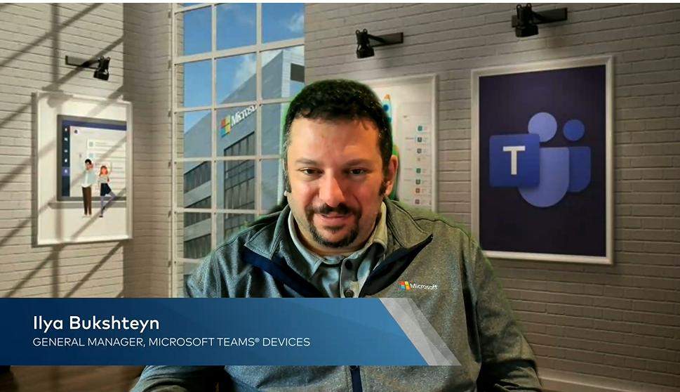 photo of Ilya Bukshteyn, Microsoft GM