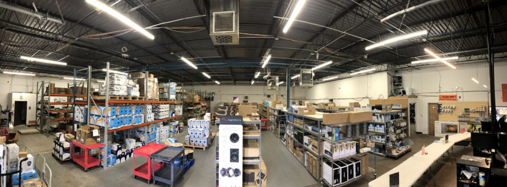 The now SnapAV HCA Denver, CO location