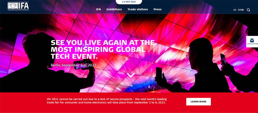 IFA homepage