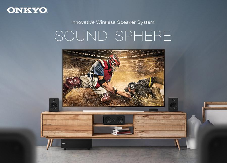 Onkyo Sound Sphere wireless speaker system
