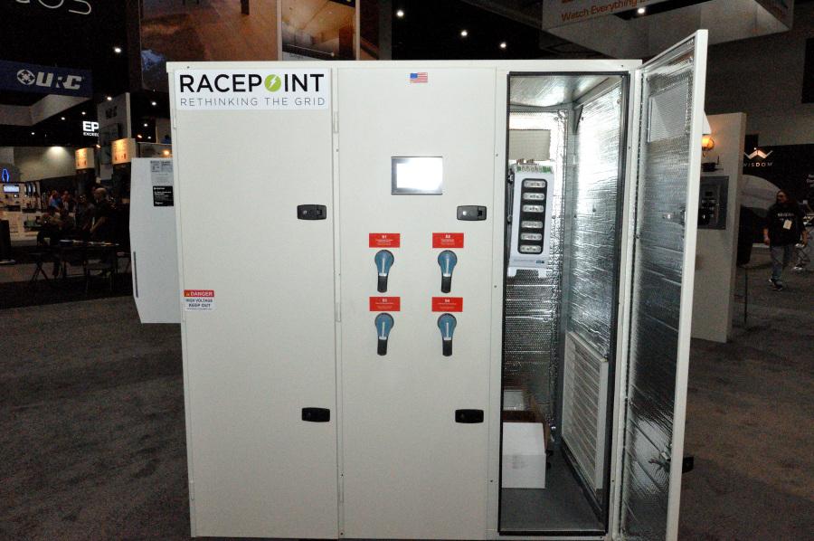 A Racepoint Energy, now Savant Power, Microgrid