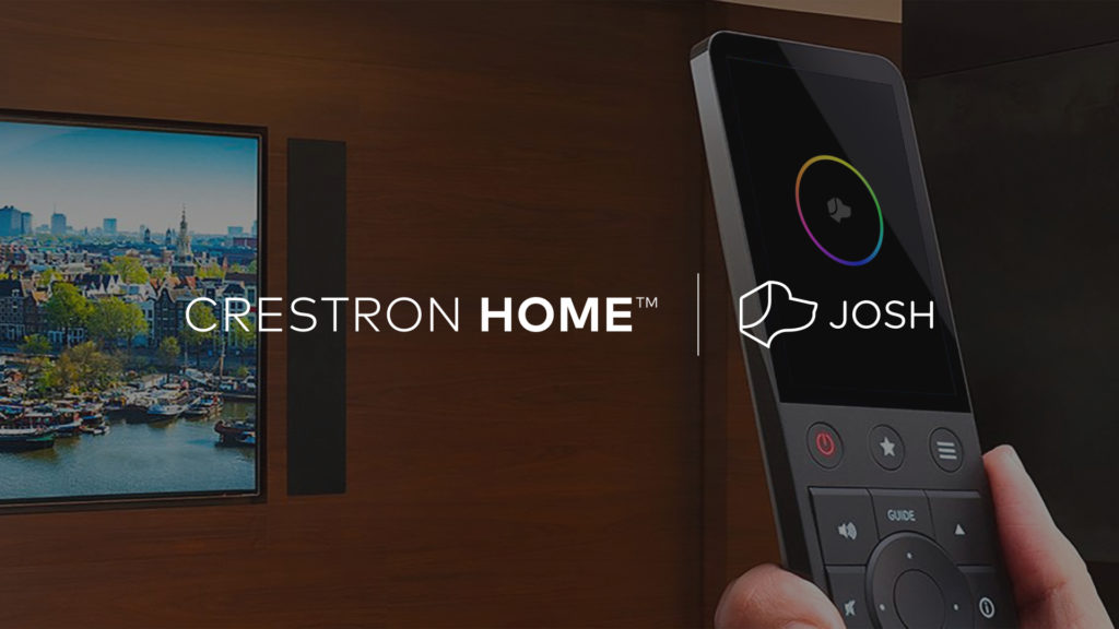 Josh.ai partners with Crestron Home