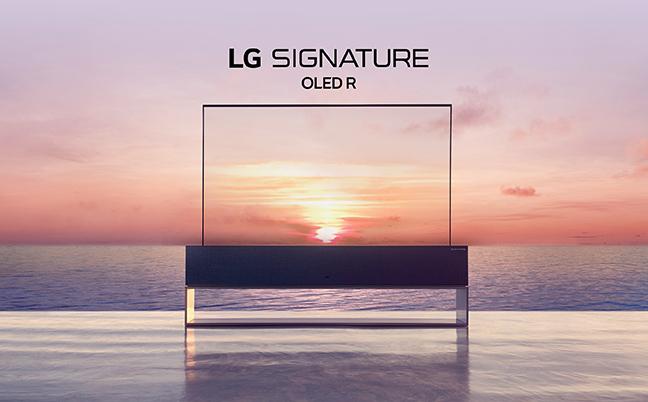 LG OLED R