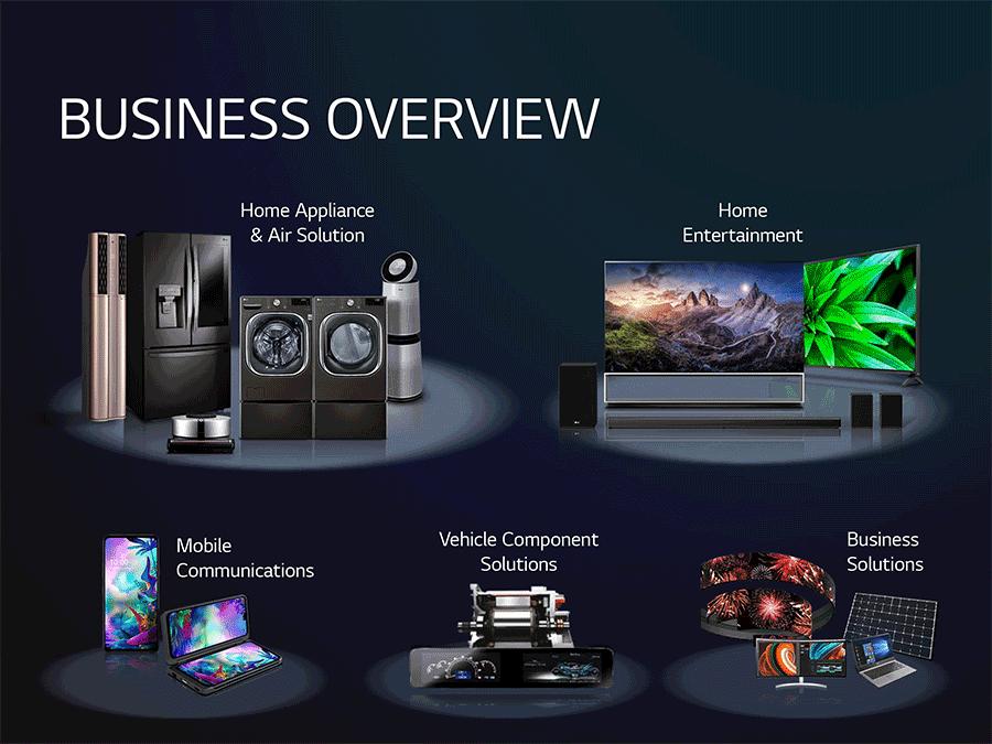 LG business units