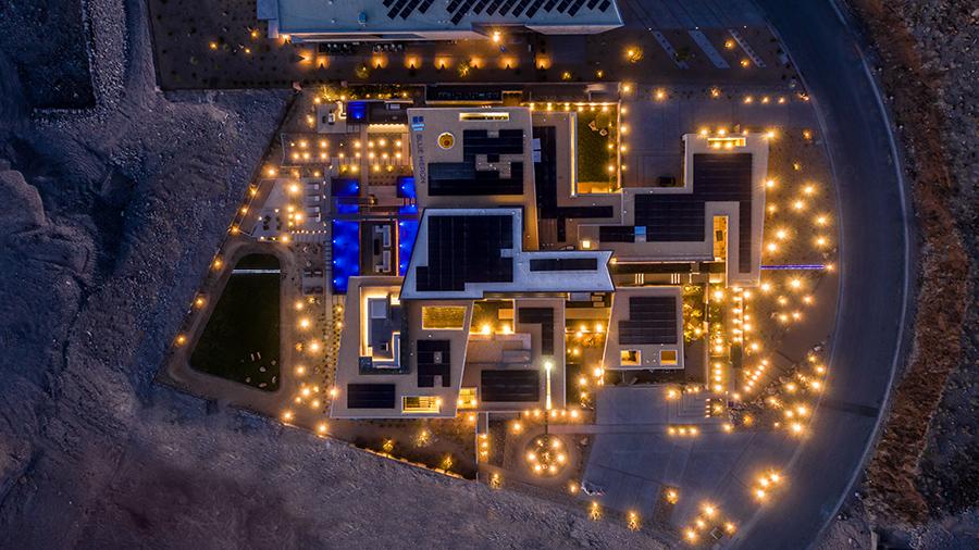 Savant Vegas Modern from the sky