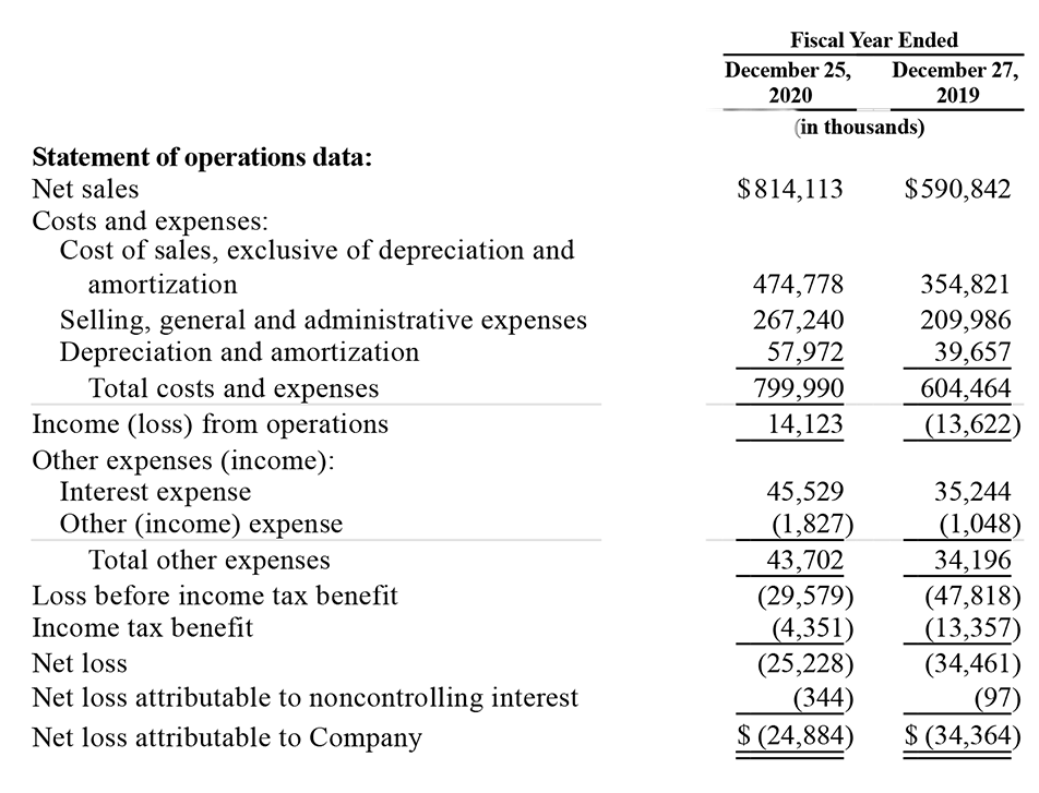 Snap One financial results