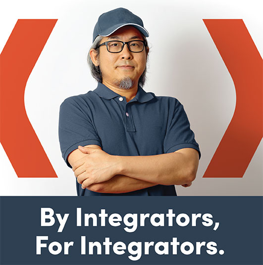 By integrators for integrators