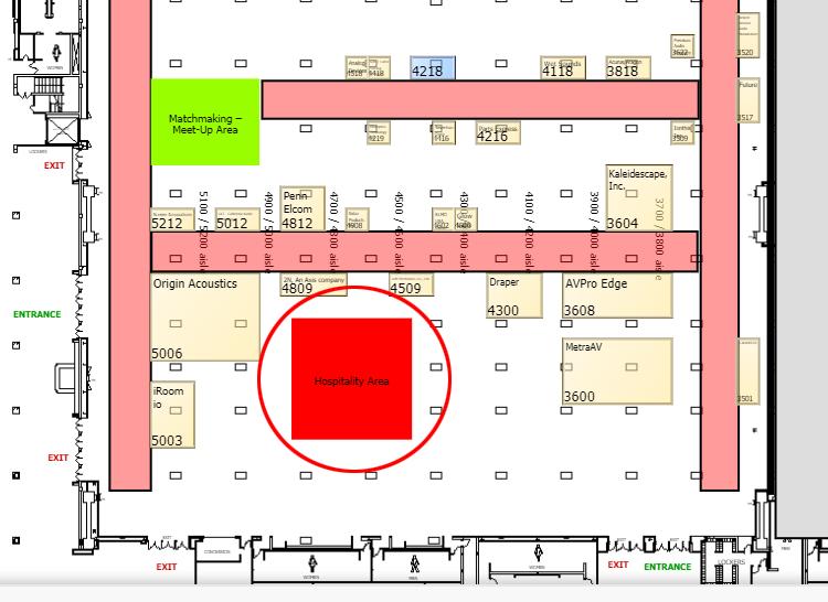 CEDIA Expo 2021 floorplan