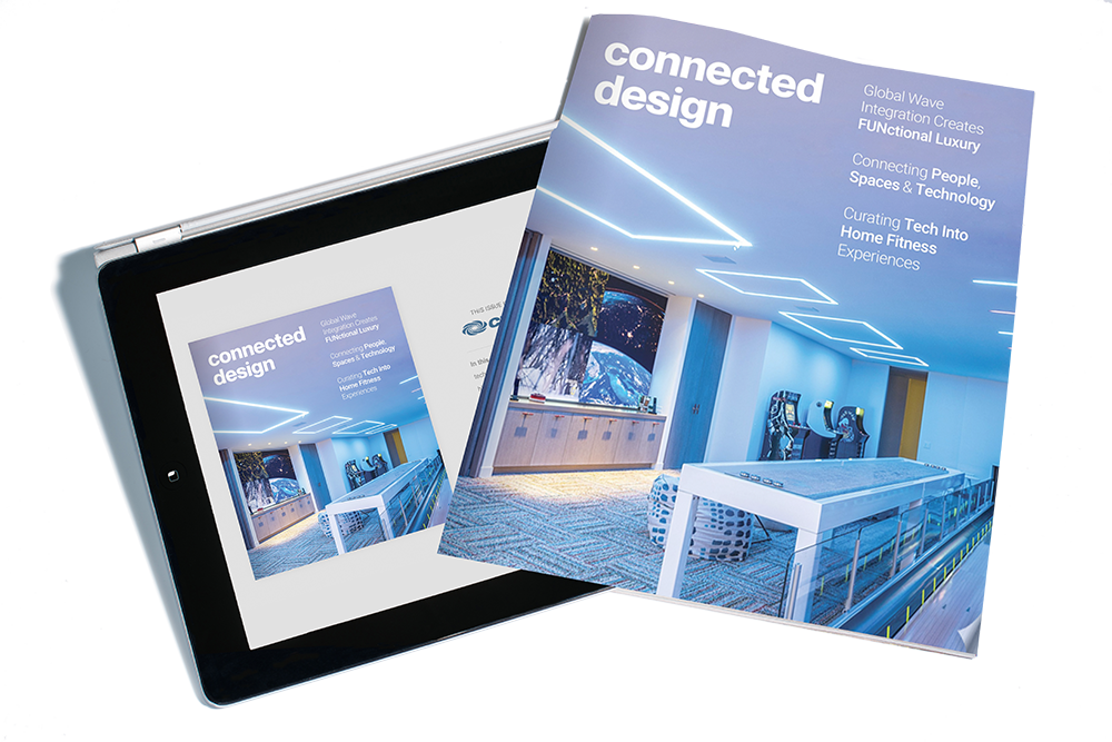 Cover of an issue of Connected Design, a CT Lab magazine