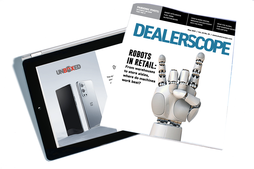 cover of an issue of Dealerscope, a CT Lab magazine