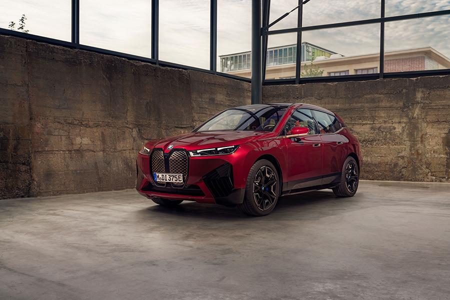 BMW iX featuring audio by Bowers & Wilkins B&W