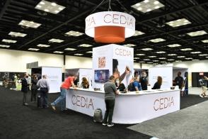 A photo from the Emerald Expo produced CEDIA Expo 2021