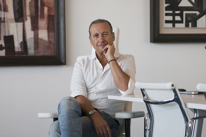 Lauro Buoro, Chairman and Founder of Nice which just acquired Nortek Security & Control